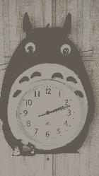 トトロ時計